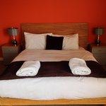 Larger double room hudson gardens penthouse