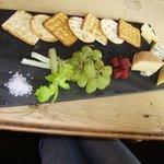 Three Cheeses Platter