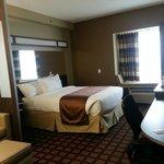 Room 108 bed