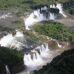 Les chutes côté brésilien