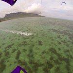 Kite Beach lagoon