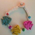 Bracelet handmade in San Pedro, Belize