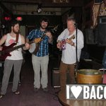 Me (on the right) Jammin with Bacon at BJ's