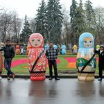 Life size Russian Dolls