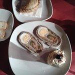 Empanadillas Criollas y Mata hambre casero con ensaladilla rusa