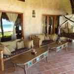 Dans Mbuyu la plus belle cottage du The Sands