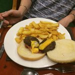The Best of British Burger for £12.95!