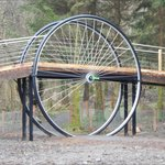 The Kirroughtree Wheel - new attraction beside the Centre.