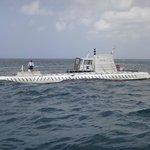 Submarino antes de abordar