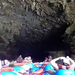 Group Going Through Caves