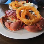 Local Rock Crab.