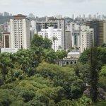 Vista do apartamento no 13º andar (1301)