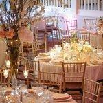 Elegant summer ballroom