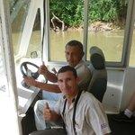 Jorge and Captain Avelardo