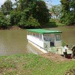 River cruise boat in Rio Frio