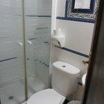 туалет-душ номера на 2 этаже