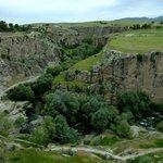 Entrada sul da Garganta Ihlara, cerca de 1 km da pensâo