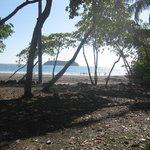 Beach about 5 min. Walk