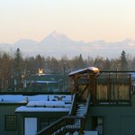 Mt. Denali in background...taken from room.