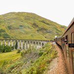 Going towards Mallaig over the Glenfinnan Viaduct