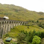 Going back towards Ft. William over the Glenfinnan Viaduct