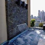 Roof top jacuzzi