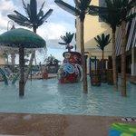 Fun in the Kid's Pool Area!