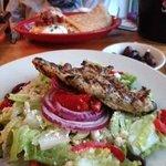 Greek salad...large, fresh, fantastic!