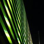 Night lighting of the bridge structure