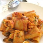 Paccheri Pasta with Seafood