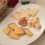 "Great cheese platter (""Bitto"" is my favorite kind of cheese)"
