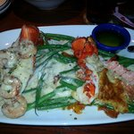 My lobster meal, yum!