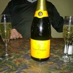 Birthday Champagne, a well rounded wine selection....