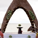 Wedding Gazebo before our ceremony