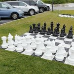 Outdoor Chess and Checkers Sets