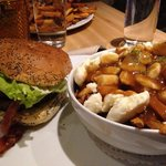 le montagnard and my lovely beautiful poutine!