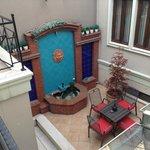 Vu de la terrasse - Chambre 101