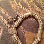 My bracelet after the spa