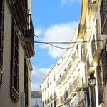 улица расположения отеля Plateros