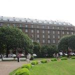 Vista del hotel.
