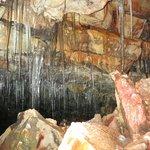 Buri cave - icicles