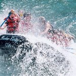 Whitewater rafting for kids!