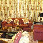 Sala de estar de la Suite Real