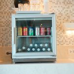 Club lounge soft drink selection