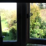 View from the en-suite bathroom window