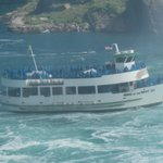 The Maid in the Mist boat trip under the falls, you must experience this!!!