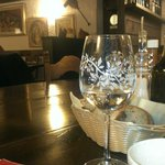 Buen ambiente comida y vino