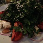 Caprese Salad with Boccinchini & Tomatoes & Arugula
