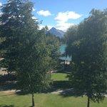view of lake Wakatipu from room 449 ( summer time)