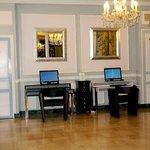 Lobby-computer area